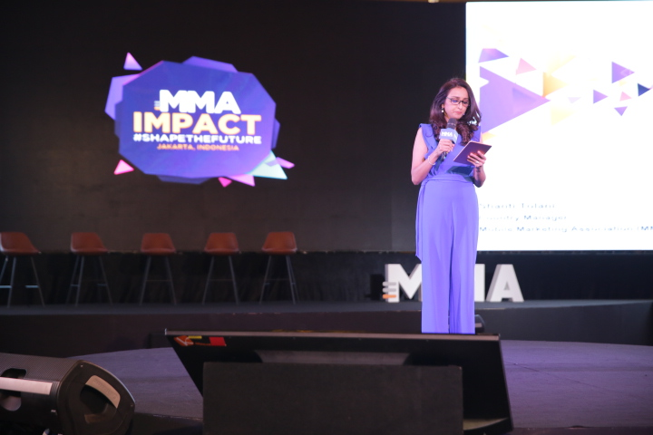 Shanti Tolani (Country Manager Indonesia Mobile Marketing Association)