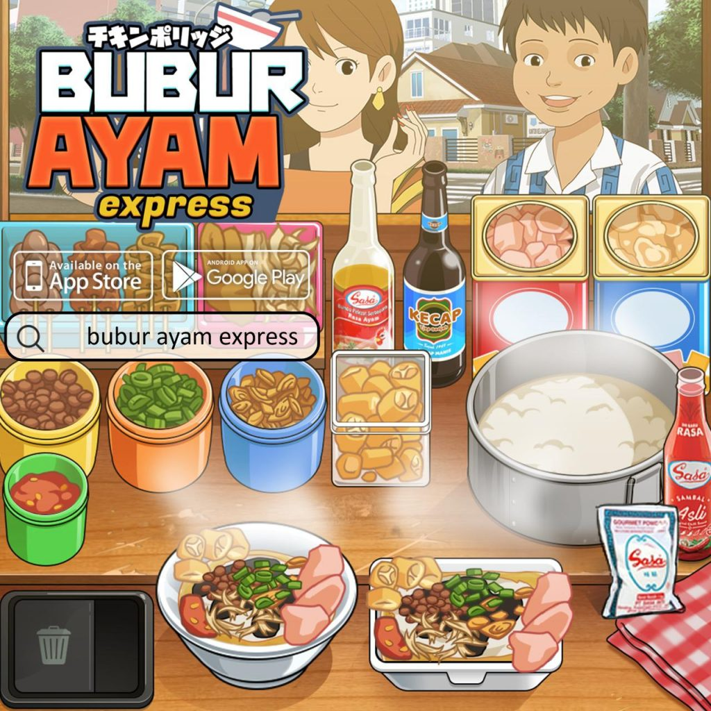 Game Bubur Ayam Express