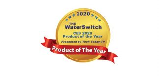 Tech Today-TV Designates The WaterSwitch® as Product of the Year at CES 2020 (Photo Credit: waterswitch.com)