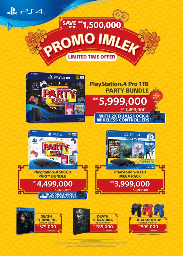 "SIES is running a limited time ""Promo Imlek"" campaign in Indonesia"