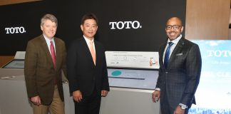TOTO Announces Hartsfield-Jackson Atlanta International Airport is World's First to Install Smart, Fully-Connected Restroom System, a Collaboration with GP PRO