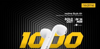 realme Buds Air First Sale Result