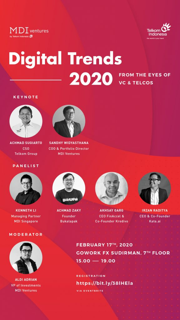Digital Trends 2020 from The Eyes of VC's and Telcos