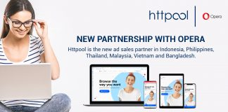 Opera Ads selects Httpool as their new ad sales partner in Southeast Asia